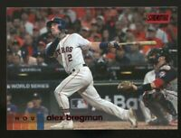 ALEX BREGMAN 2020 Topps Stadium Club RED FOIL Parallel Card #236 Houston Astros