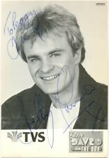 Bobby Davro signed photo autograph 1980s English comedian/actor on the Box TVS