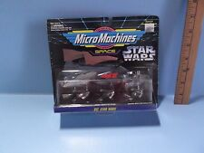 Micro Machines VII Star Wars Star Cruiser,Desert Sail Barge & Speeder Bike 1994