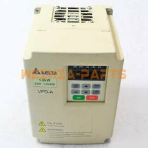 1pc Delta VFD015A21A Inverter 220V 1.5KW Used