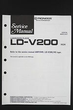 Pioneer ld-v200 HGM Original vision laser lecteur de service-manual/Diagram o122