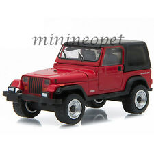 GREENLIGHT 96160 D MOTOR WORLD SERIES 16 1992 JEEP WRANGLER HARD TOP YJ 1/64 RED