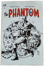 The Phantom #4 by Hermes Press, Variant cover 4A, black and white, Sal Velluto