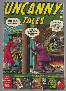 Uncanny Tales #4 1952 Atlas Golden Age Pre Code Horror Comic Book