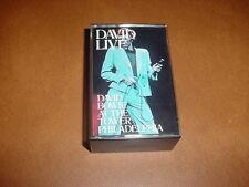 David Bowie At The Tower Philadelphia DAVID LIVE Double Cassette Set