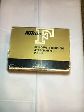 Nikon PB-4 Bellows Focusing Attachment in excellent condition