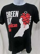 GREEN DAY American Idiot Punk Rock Band Women's XS T-Shirt Black