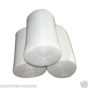 3 PACK BAMBOO Liners Nappy Insert Cloth Biodegradable ORGANIC Liner
