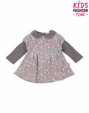 Mirtillo A-line Dress Size 12M / 80Cm Polka Dot Pattern Peter Pan Collar