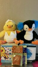 SCENTSY BUDDY LOT NEW -EGGMUND +PERCY NLA +2 SCENT PAKS FREE PRIORITY SHIPPING