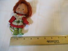 Vintage Strawberry Shortcake Doll curved  hands cute girl pink No hat no shoes