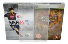 10 x SCF12 Dvd / PC / Xbox Steelbook Protectors 0.4mm PET Plastic Display Case