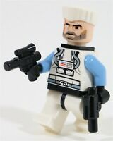 NEW LEGO STAR WARS COMMANDER WOLFFE MINIFIGURE CLONE ARMY - MADE OF GENUINE LEGO