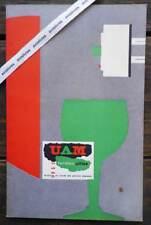 Rare FORMES UTILES 1953 Arts Ménagers Verres Lampes UAM Herbst Prouvé Luce Jumo