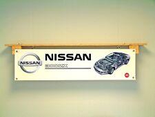 Nissan 300 ZX Banner Garaje Taller Club Coche Pantalla muestran señales JDM
