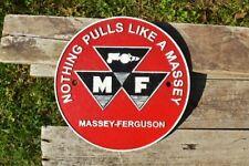 Massey Ferguson Tractors Cast Iron Metal Sign - Nothing Pulls Like A Massey