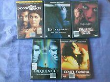 DVD LOTTO 5 FILM  (THRILLER/FANTASCIENZA)