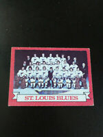 Blues Team Card-1973/74 Opee-chee Hockey-excellent/5-no.105