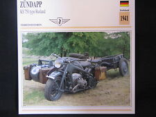 Card 1941 Zündapp KS 750 type Rusland (Nederlands) (CC)