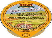 (17,98€/kg) Siedler Delikatess-Leberwurst mit Kalbfleisch 20x25g Wurst albfood