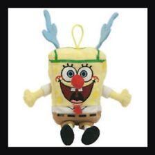Ty Beanie Babies Jingle Beanies - SpongeBob SleighRide Sponge Bob - New With Tag