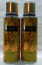 2 Rich Vanilla Fragrance Mist Victoria's Secret 8.4 Oz