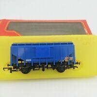 TRIANG HORNBY OO GAUGE R649 VAT BULK GRAIN WAGON BLUE
