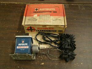NOS OEM Ford 1965 Autolite Transigniter 101 Kit High Performance Ignition Kit