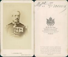 Pierson, Maréchal Frossard vintage CDV albumen carte de visite,  CDV, tirage a