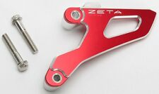 ZETA ZE80-9355 Red Sprocket Drive Cover Guard Honda CRF250R 10-17, CRF450R 09-16
