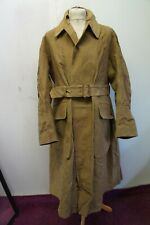 VINTAGE WW2 ARMY ISSUE BELSTAFF DISPATCH RIDERS MOTORCYCLE COAT JACKET SIZE XL