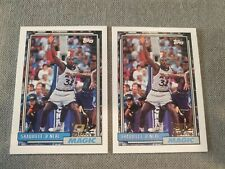 New listing 1992-93 Topps Shaquille O'Neal  RC HOF MINT (2) Card Lot Possible PSA