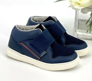 NEW Toddler Boys' Orion Sneakers Size 6 Casual Shoe Navy Blue Cat & Jack