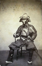 Samurai in Armour 1860s by Ueno Hikoma Japan 7x5 Inch Reprint Photo