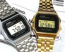 Casio Couples Pair Unisex Watch ALARM VINTAGE RETRO DIGITAL QUARTZ A159WGA/WA