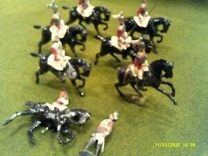 Vintage Post War Britains Johillco British Dragoon Guards