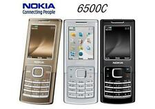Original 6500C Nokia 6500 3G Network Classic Phone 2MP MP3 Bluetooth 1GB