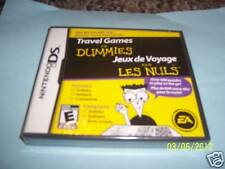 Travel Games For Dummies  (Nintendo DS, 2008) dsi new