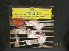 Hans Werner Henze - Balsa de la Fragata Medusa / Edda Mosser - Dg 2LP Juego