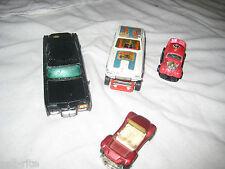 Original Corgi Junior Green Hornets Black Beauty Santapod Gloworm Vintage Cars