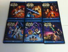 STAR WARS COMPLETE SAGA ON DVD 12 DISCS ORIGINAL THEATRICAL VERSIONS FULLSCREEN