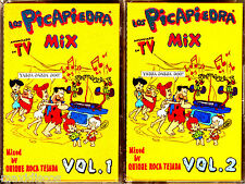 CASx2 - LOS PICAPIEDRA MIX (THE FLINTSTONES MIX) MINT, FACTORY SEALED LISTEN