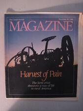 Louisville Courier Journal Magazine 1986. Kentucky Farming Crisis! Marion Co. KY