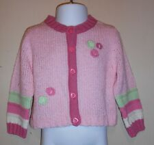 The Childrens Place Infant Girls Cardigan Sweater Pink 12M NWT