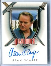 2003 Complete Highlander The Series Alan Scarfe (Craig Webster) AUTO AUTOGRAPH
