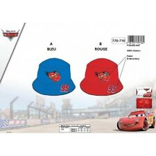 BLEU * Bob CARS Disney / Chapeau - casquette * NEUF L'unité * 100% coton