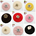 Fashion Baby Girl Boy Toddler Kid Winter Warm Knitted Crochet Beanie Hats Cap