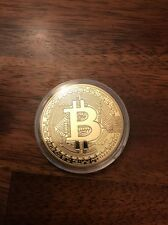 Bitcoin 1oz Gold Plates Coin