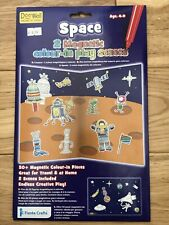 Fiesta Crafts 2 Magnetic Colour in Space play scenes, incl 50+ colour in pieces