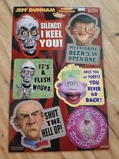 Jeff Dunham Funny Ventriloquist Comedian 6 Pc Magnet Set Comedy Central